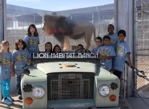 FLL Team 10058: Week 10 Guest Speaker & The Lion Habitat Ranch
